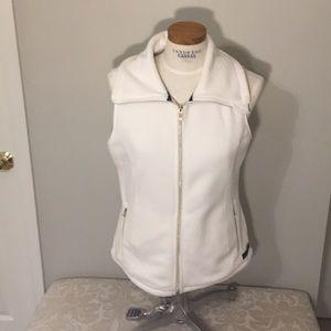 Calvin Klein zip front micro fleece vest